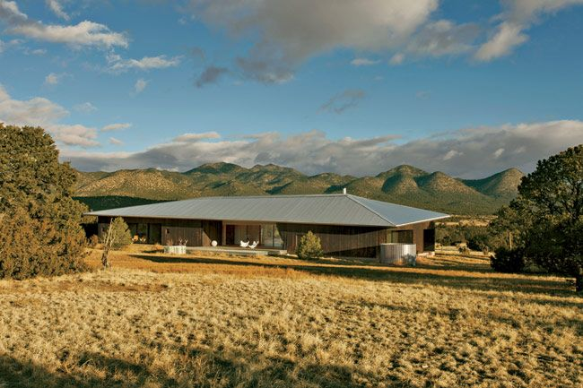 Lone Mountain Ranch House