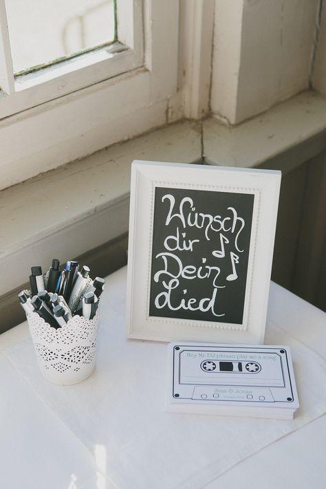 Musik Geschenk originell gestalten. // Musik Geschenkideee #WeddingPlaner – Eventplanung