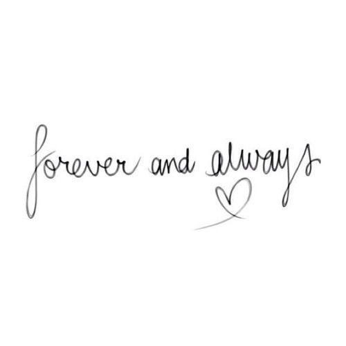 sempre e per sempre