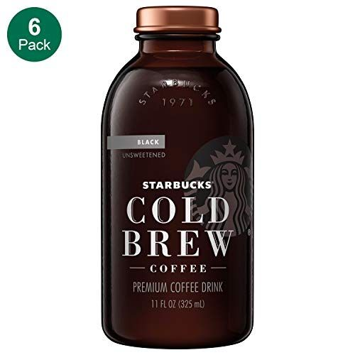 Starbucks Cold Brew Coffee Black Unsweetened 11 Oz Glass Bottles 6 Count In 2020 Coffee Brewing Cold Brew Cold Brew Coffee