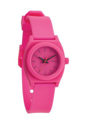 The Small Time Teller P - Hot Pink | Nixon