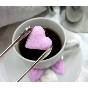 6 Dozen Heart Shaped Sugar Cubes to Serve with Coffee or Tea