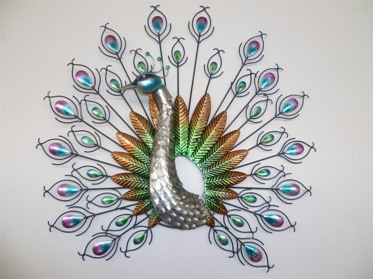 Peacock metal wall art pretty as a peacock pinterest peacock