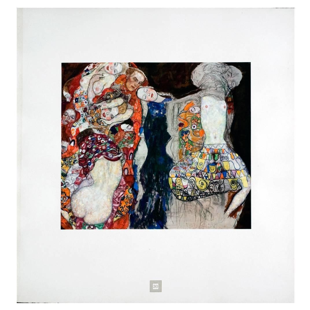Bridal Progress from the Portfolio Aftermath by Gustav Klimt