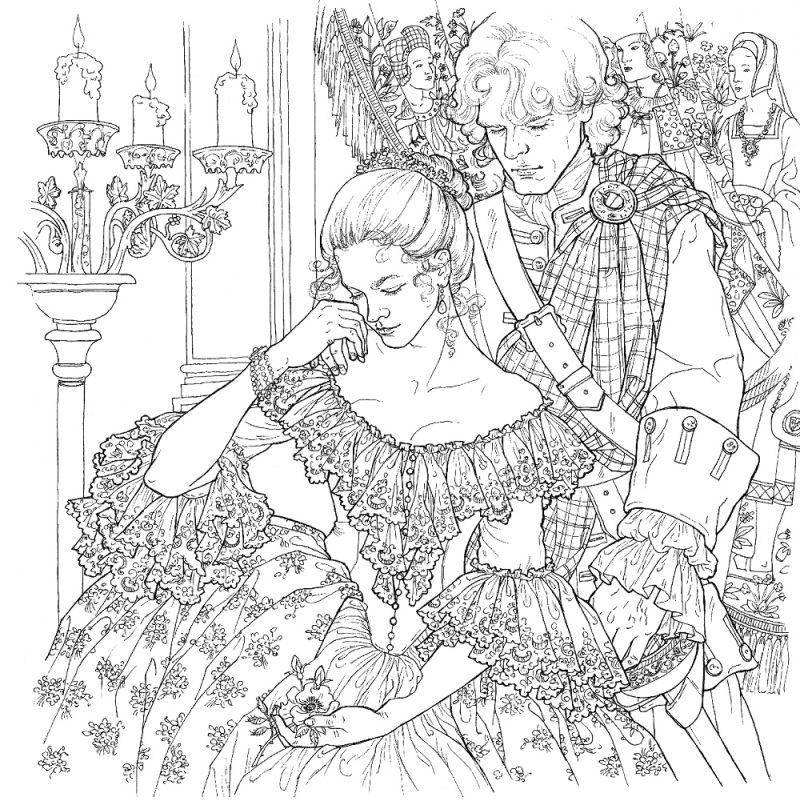 The Outlander Coloring Book Is An Actual Thing That Exists ...