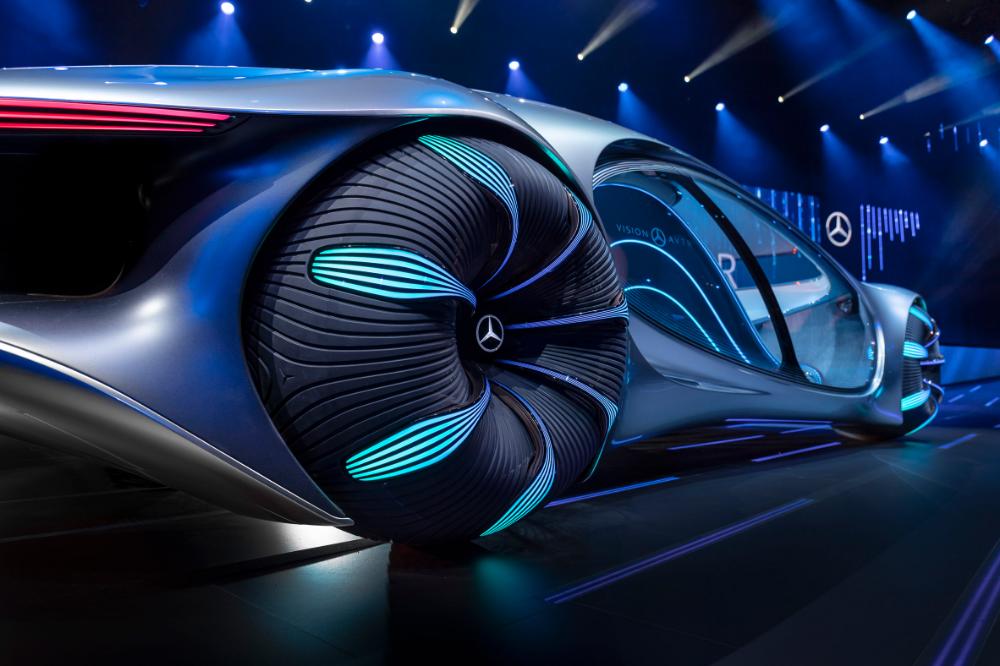 Mercedes Benz Unveils Avatar Inspired Concept Car At Ces 2020 In 2020 Concept Cars Mercedes Benz Mercedes
