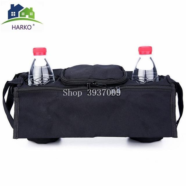 1X Baby trolley storage bag organizer stroller buggy pram cup holder bags