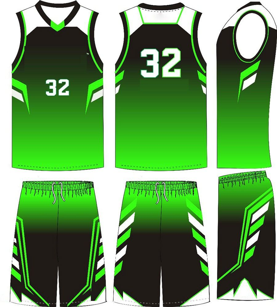 Team Set Sublimation Latest Basketball Jersey Logo Design