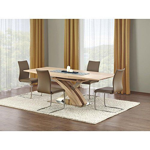 Justhome table de salle manger sandor extensible sonoma https