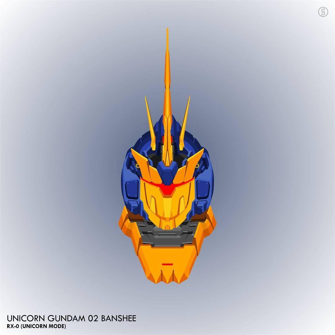 Gundam Vector Mobilesuit Mecha Plamo Banshee Gundam Unicorn