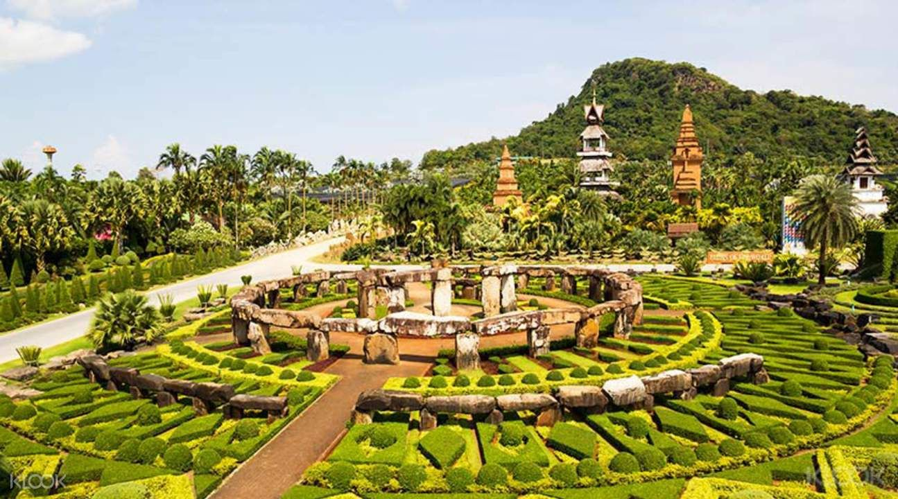 nong nooch tropical botanical garden - klook | tropical garden and