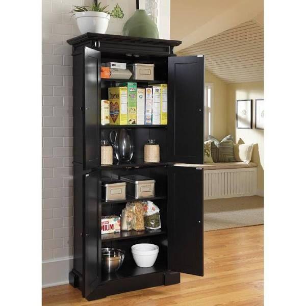 Black Portable Pantry Google Search Tall Kitchen Pantry