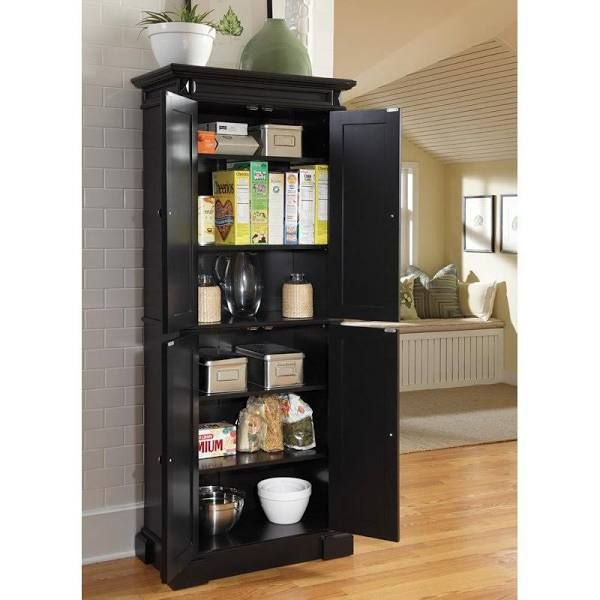 Black Portable Pantry Google Search Tall Kitchen Pantry Cabinet Kitchen Pantry Storage Kitchen Cabinet Storage