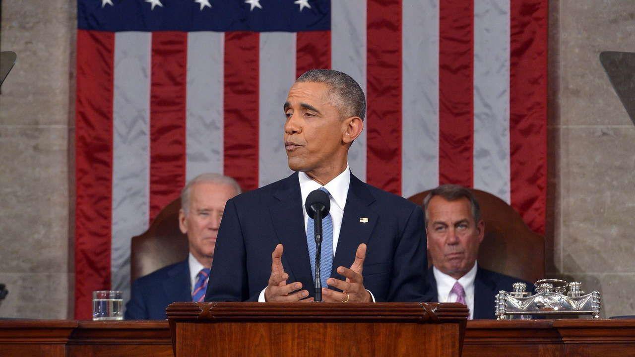.Obama vor dem Kongress