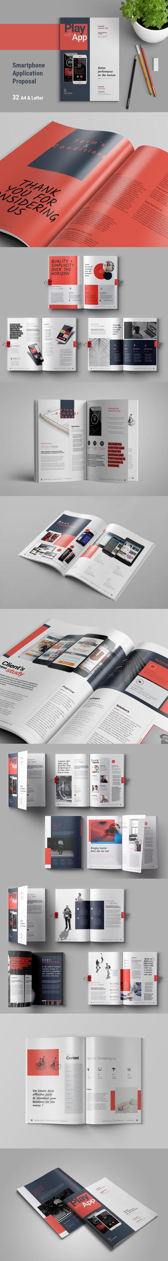 apps proposal brochure templates 16 00 brochure templates