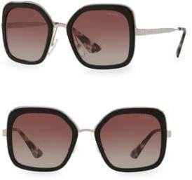 7b7a5caf1814 Prada Women's Square 54MM Gradient Lens Sunglasses in 2019 ...
