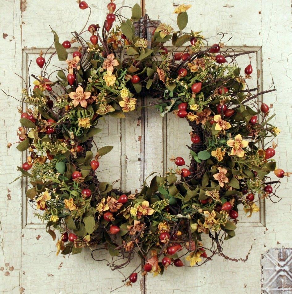 Beautiful Wreaths For Front Door | ... Door Wreaths Design : Interesting  Christmas Front