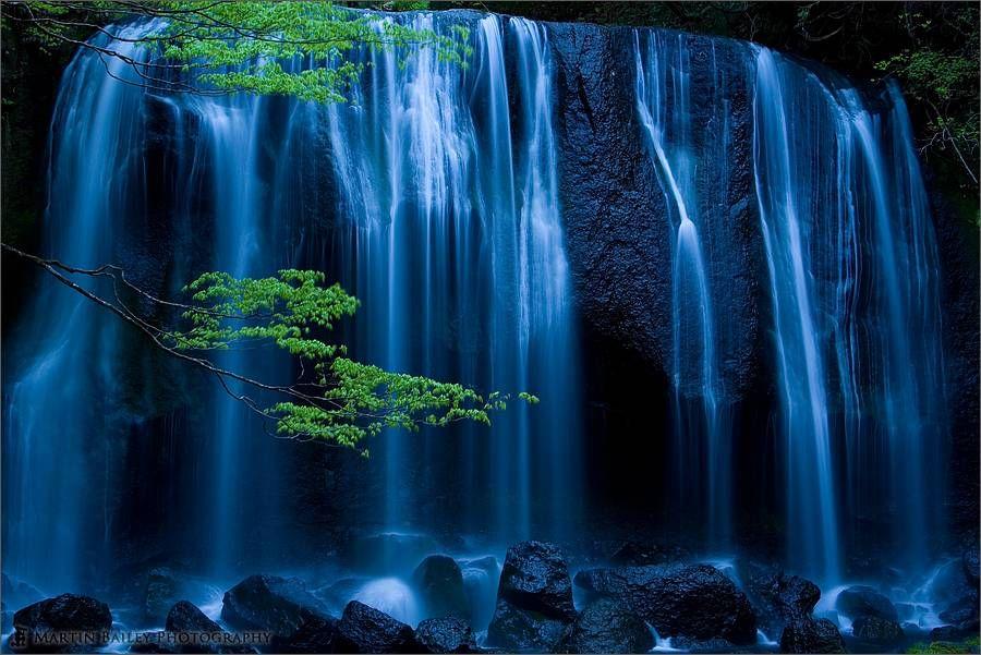 Night Falls|The Tatsusawa Falls  #inawashiro #tatsusawa_falls #fukushima