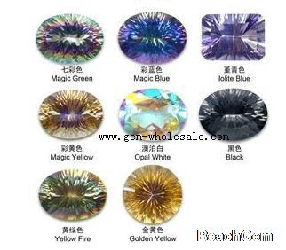 Topaz Color Google Search Mystic Topaz Rainbow Colors Topaz Color