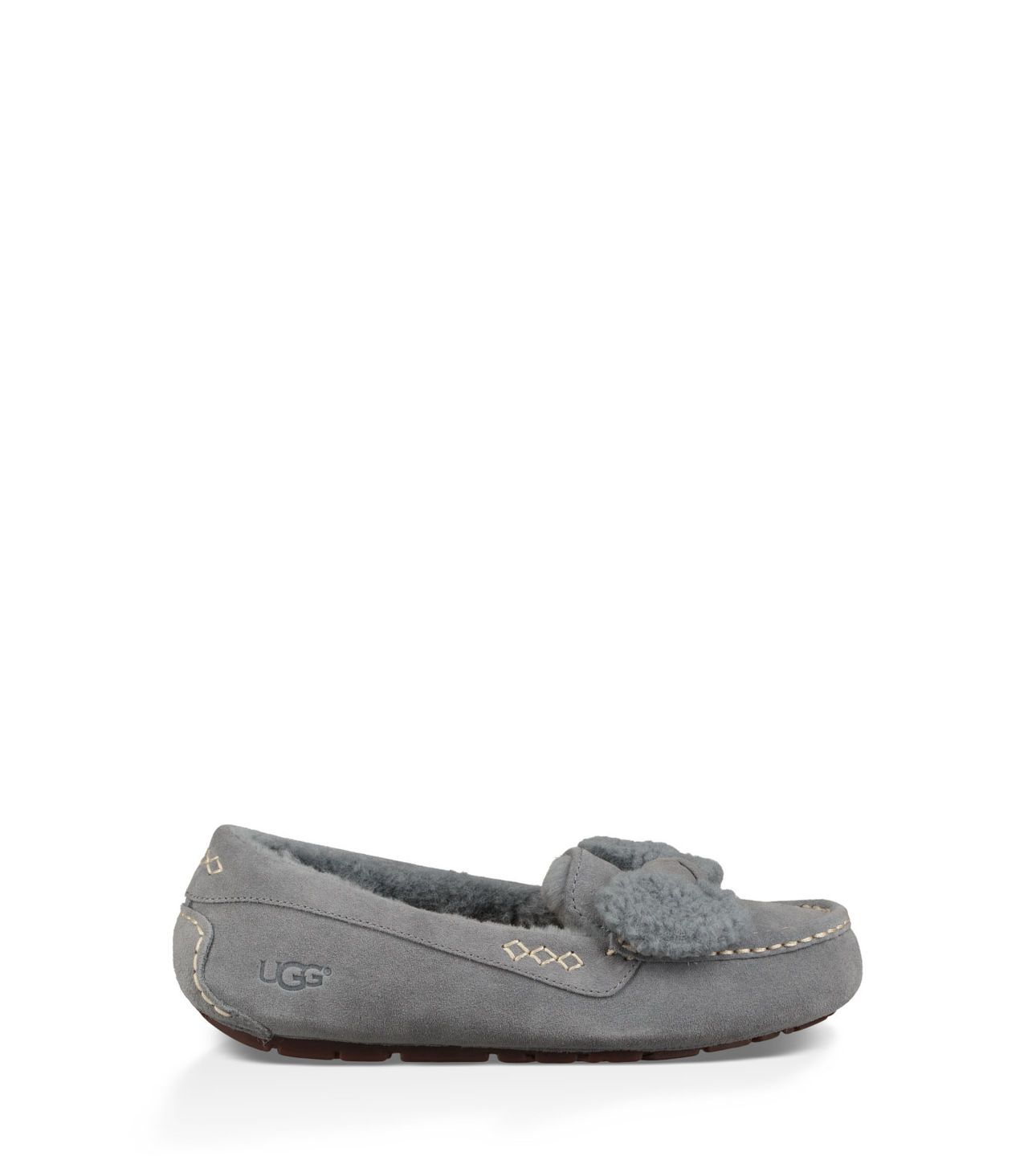56e83ba7a1a Original UGG® Ansley Fur Bow Moccasins for Women on the official UGG®  website.