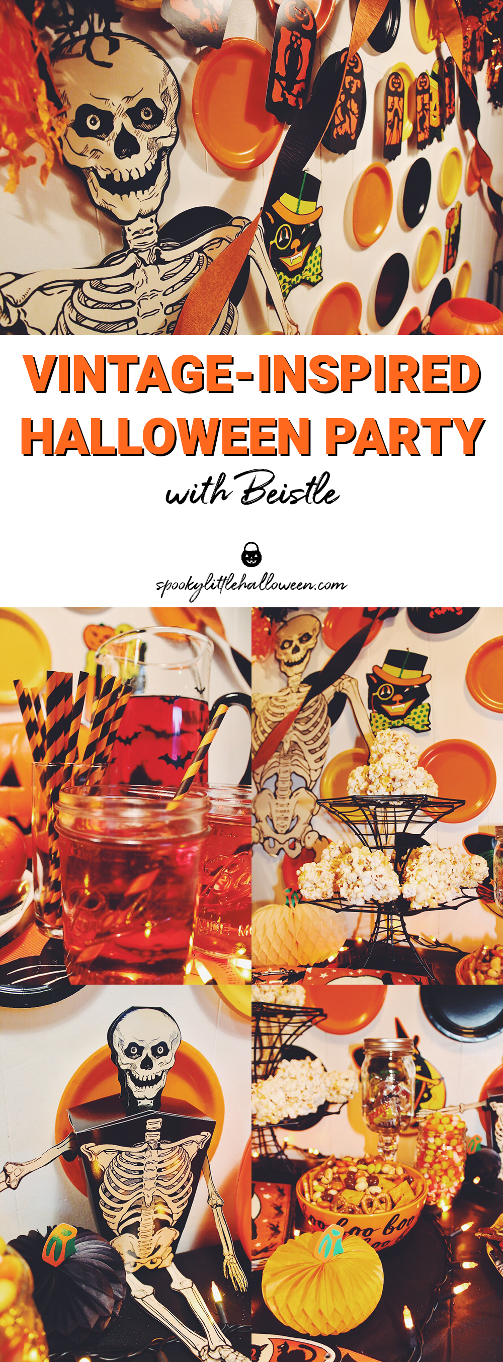 Vintage Inspired Halloween Party With Beistle  Spooky Little Halloween