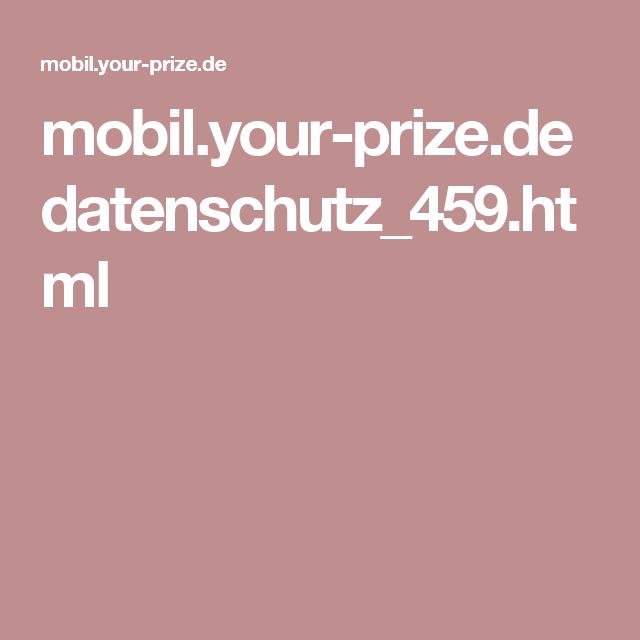 mobil.your-prize.de datenschutz_459.html