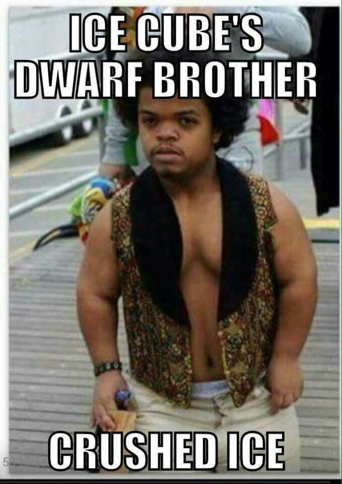 Ice Cube's Dwarf Brother.....