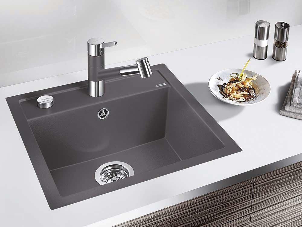 Blanco Dalago 4 Flushmount Kitchen Sink Blanco Silgranit Sinks