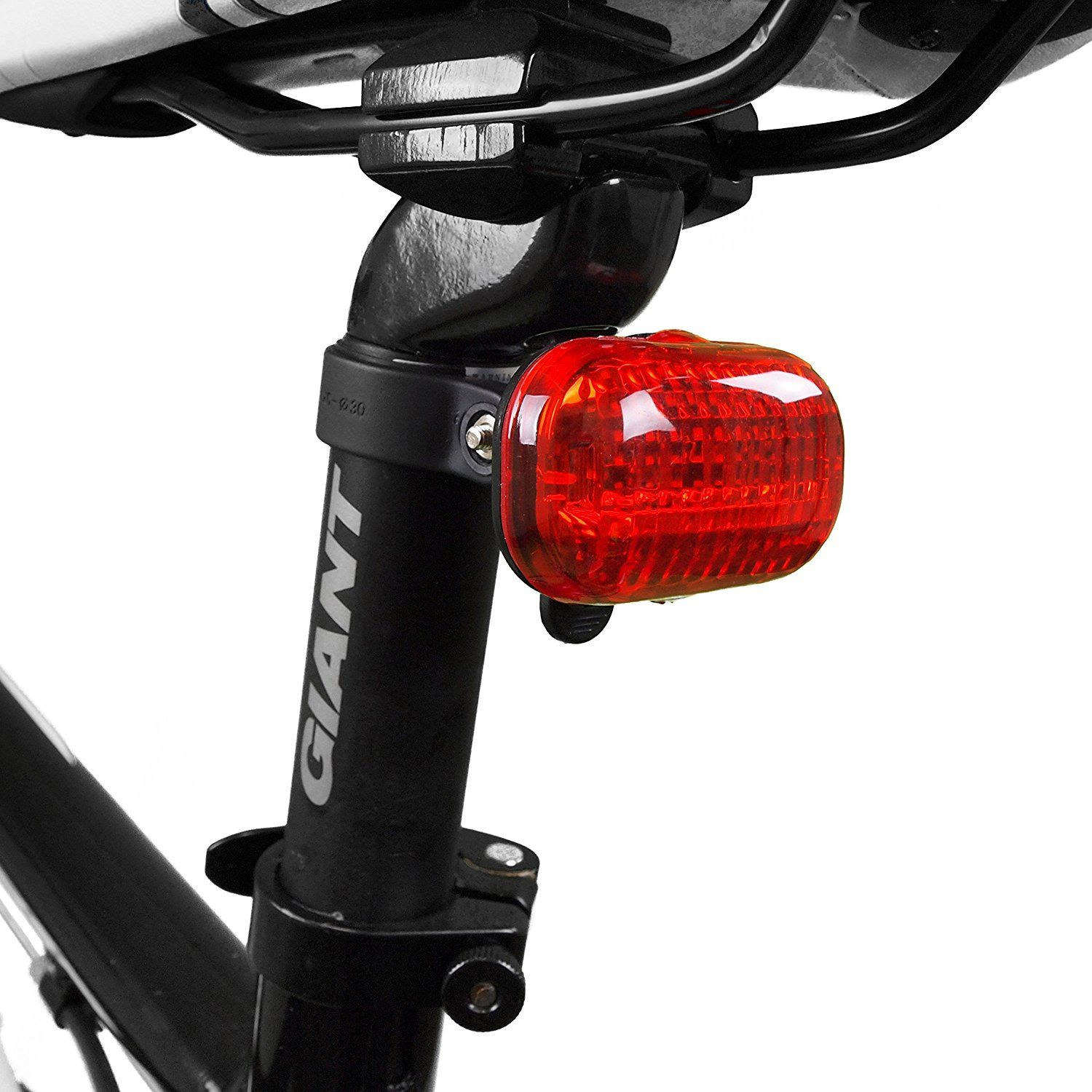 BV Bicycle Light Set Super Bright 5 LED Headlight 3 LED Taillight Quick-Release