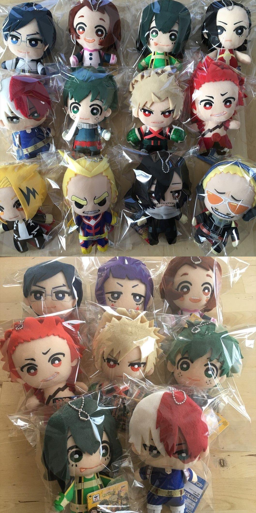 MY HERO ACADEMIA Plush with Key Chain MOCHI MOCHI Mascot Syoto Bakugo Izuku...