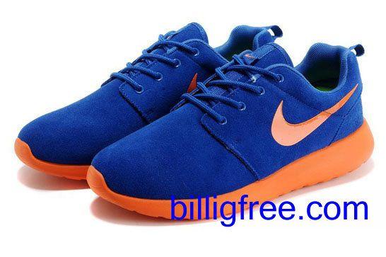 Verkaufen billig Schuhe Herren Nike Roshe Run (Farbe: vamp, innen - blau,