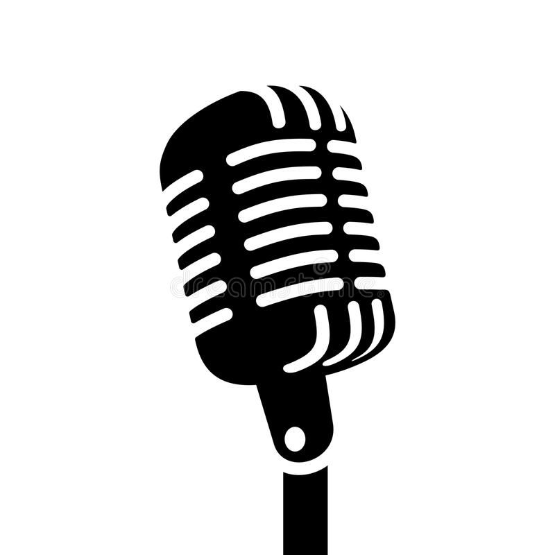 Retro Microphone Vector Sign Retro Microphone Sign Vector Illustration Affiliate Microphone Retro V Microphone Drawing Vector Illustration Microphone