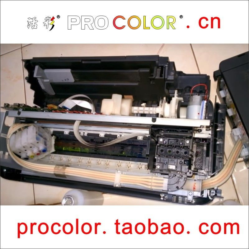 Printer head kit Dye ink printhead Cleaning Fluid for EPSON