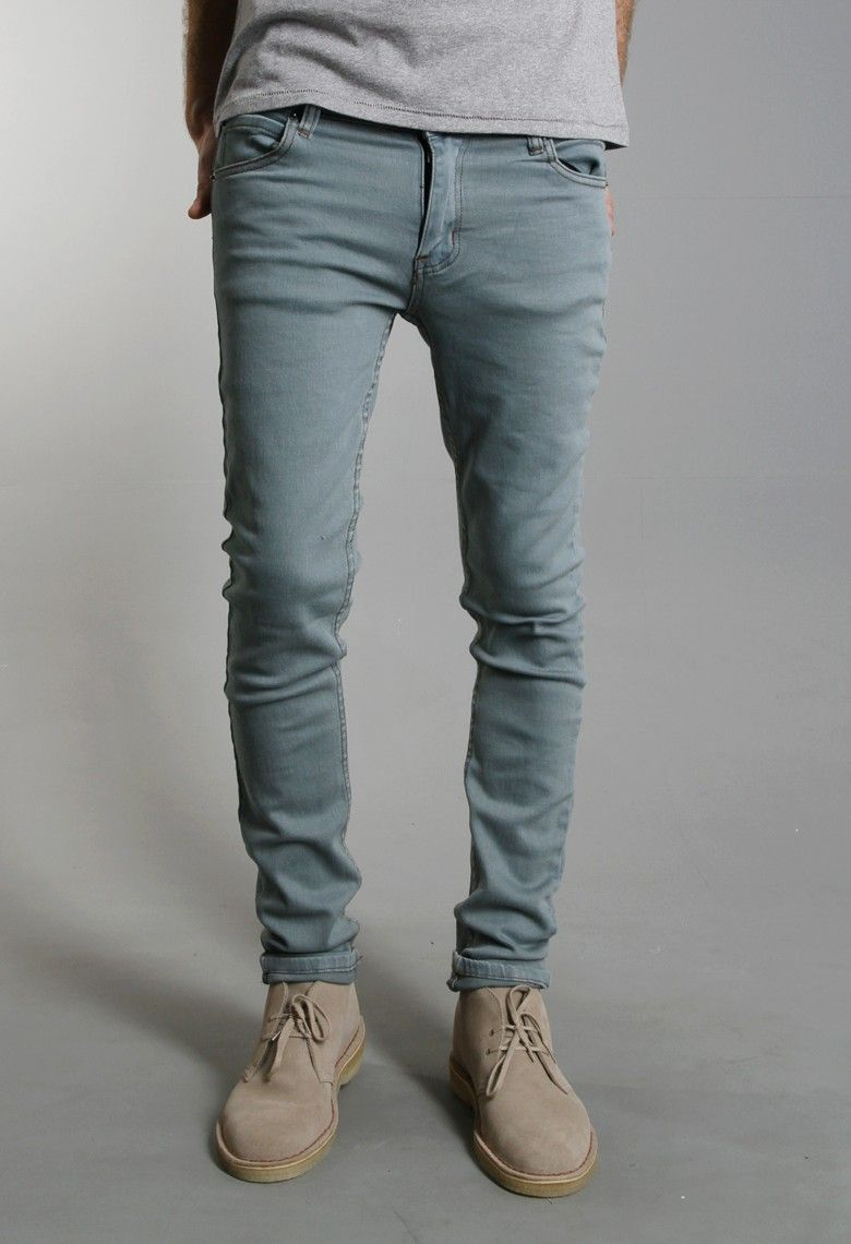 Cheap Monday - Jean Slim Tight - Tint On Light Blue. Skinny Jeans