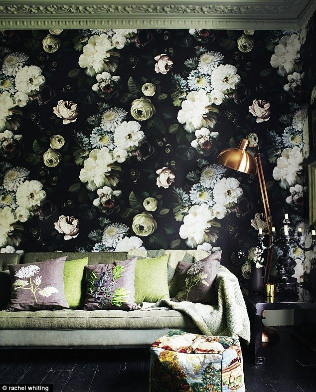 Interiors Hothouse party (With images) Floral wallpaper