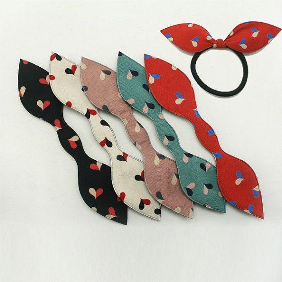 20 pcs de couleurs assorties ruban arc bricolage Annielov ruban tenants de queue de poney détenteurs...