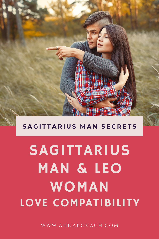 Sagittarius Man and Leo Woman Love Compatibility