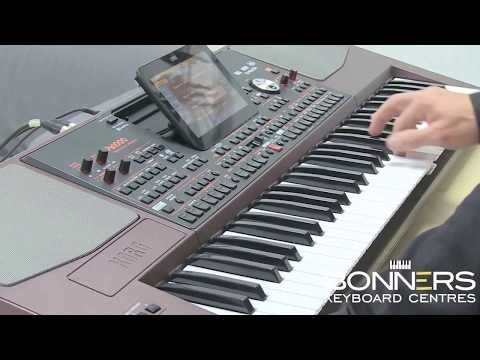 147) Korg PA 1000 New 2017 - Hot Keyboard Overview & Sound