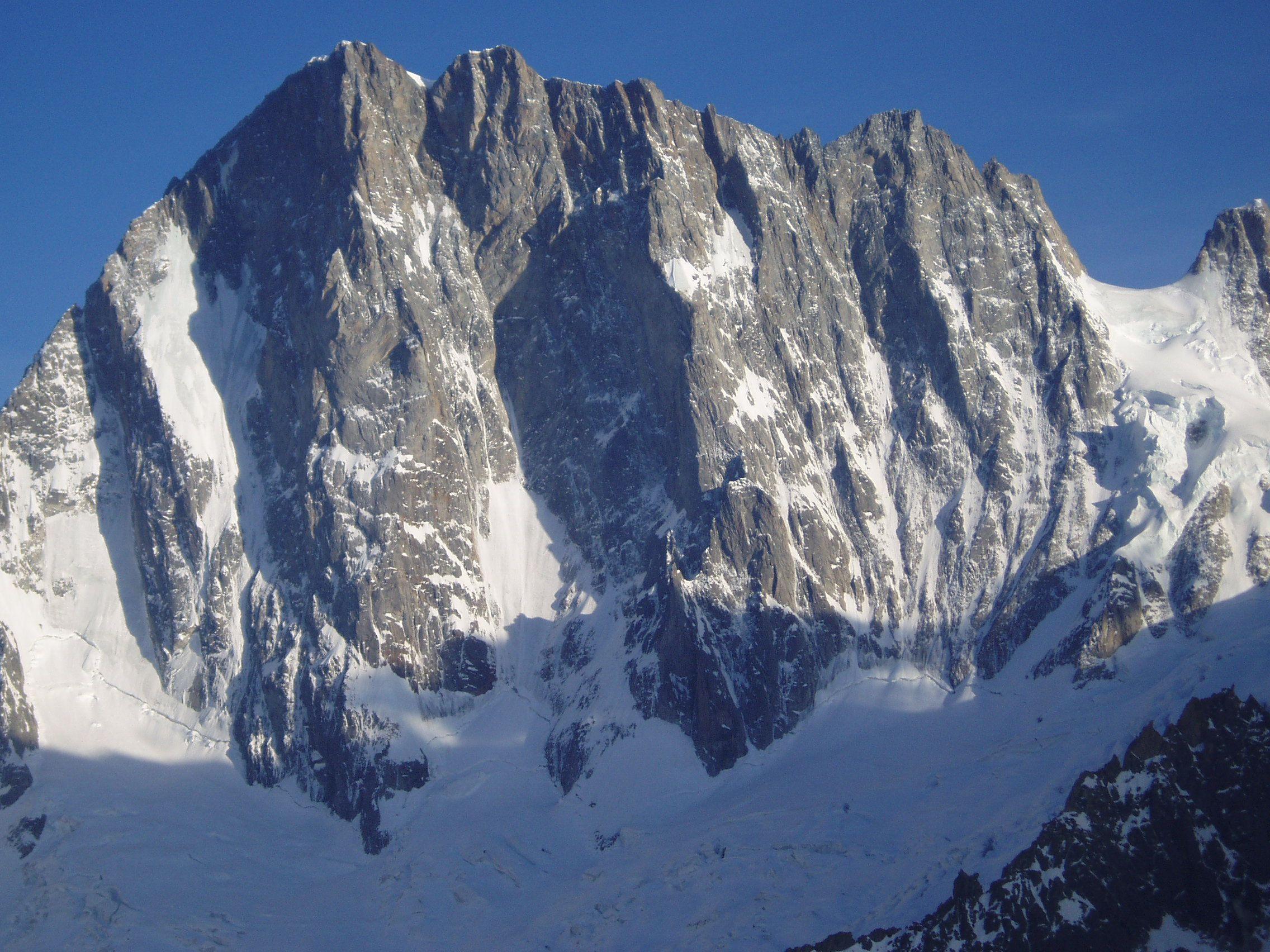 Grandes Jorasses - gruppo del Monte Bianco