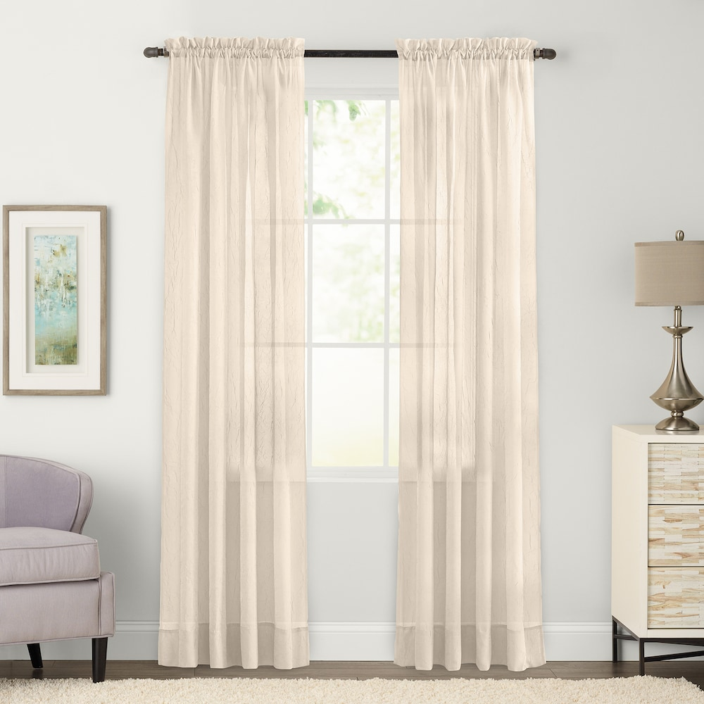 2 window bedroom ideas  sonoma goods for life sonoma goods for life pack sheer crushed