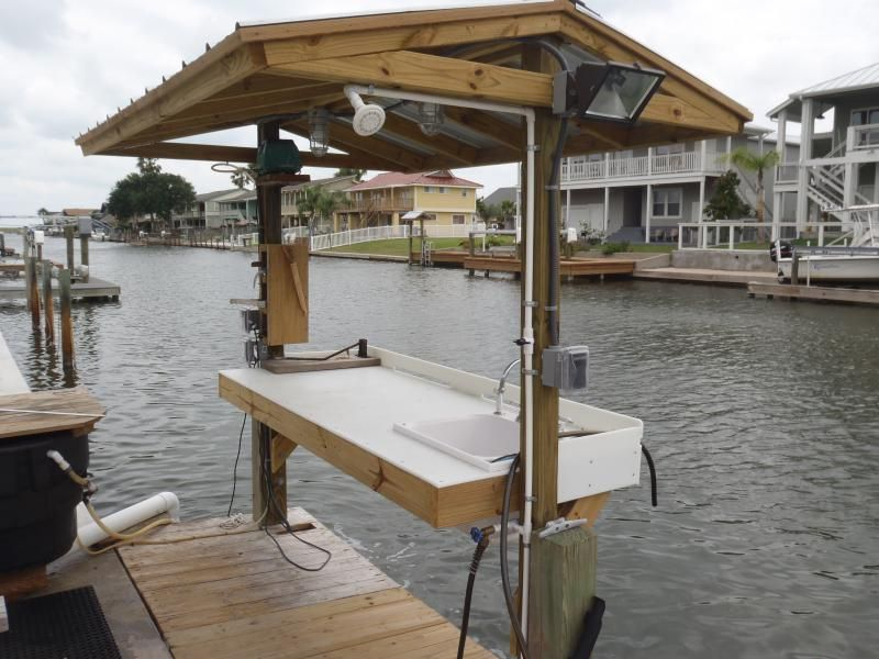 Build your own fish cleaning station tutorial for Build your own beach house