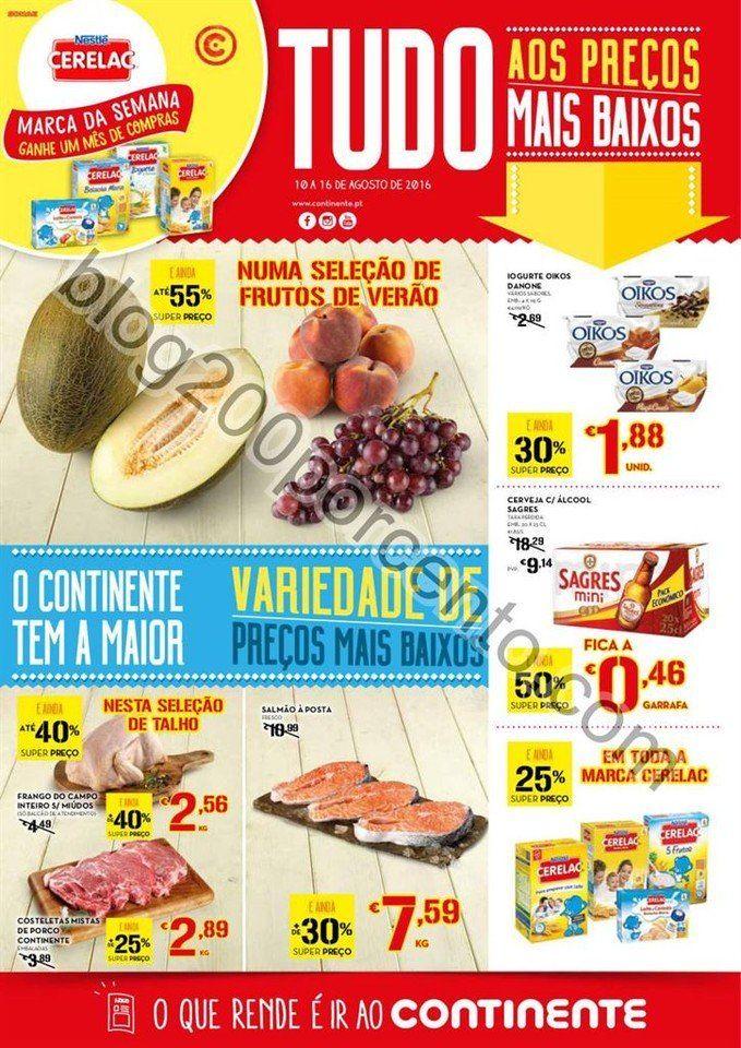 Antevisão Folheto CONTINENTE Madeira Promoções de 10 a 16 agosto - http://parapoupar.com/antevisao-folheto-continente-madeira-promocoes-de-10-a-16-agosto/