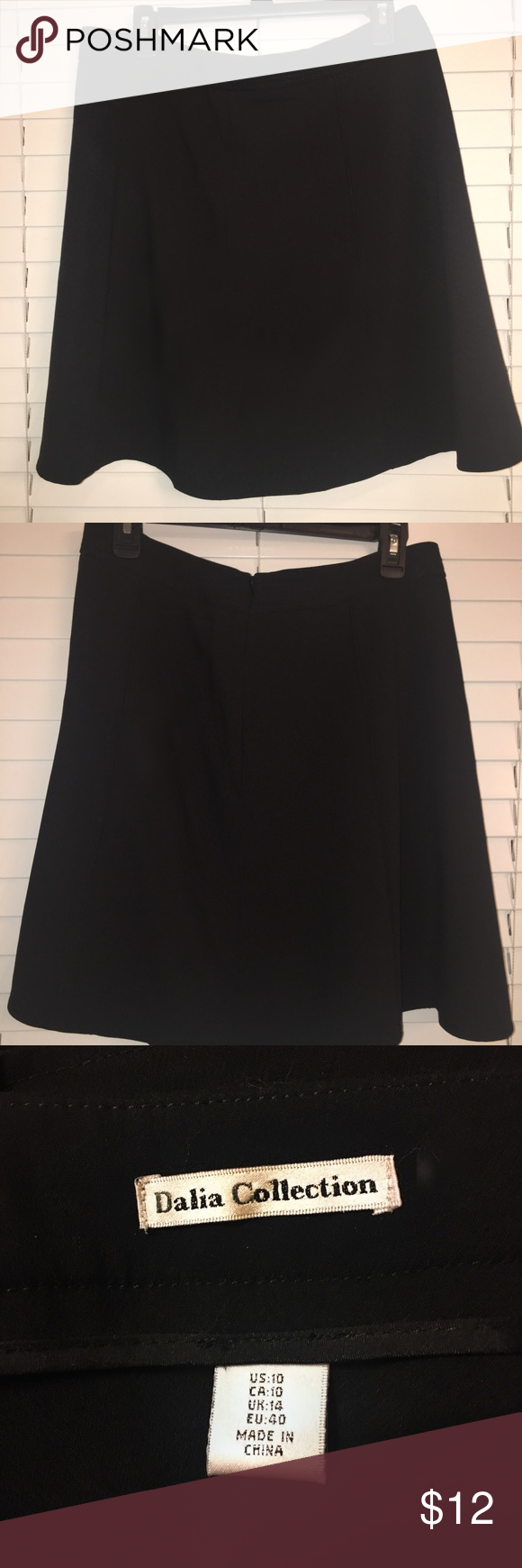 Black Stylish Skirt by Dahlia Collection Very nice and