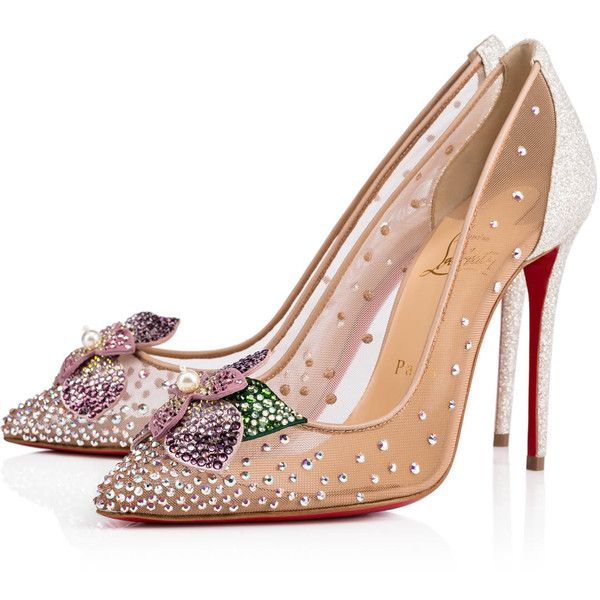 49f0e7f7f3e1 Feerica 100 Version Ab Strass - Women Shoes - Christian Louboutin ...