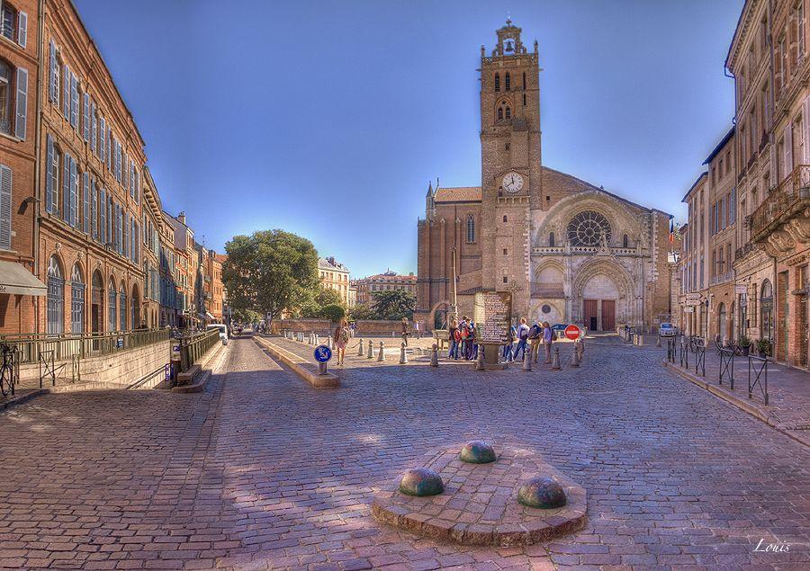 Toulouse Cathedrale Saint Etienne Haute Garonne Toulouse Garonne