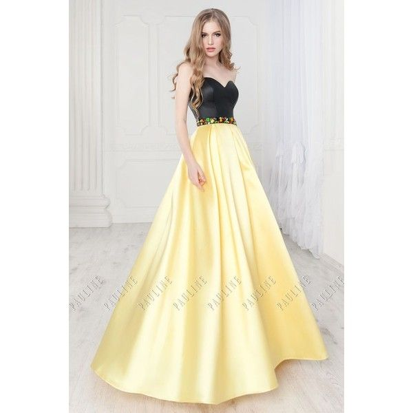 prom dress ❤ liked on Polyvore featuring dresses, beige dress ...