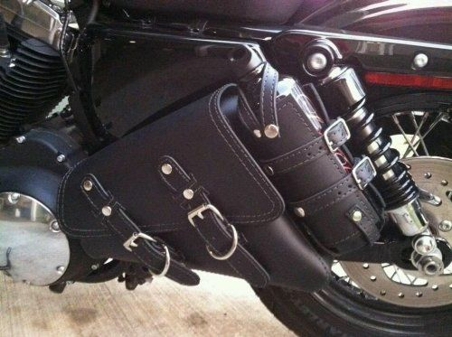 Amazon Com Motorcycle Solo Saddlebag Side Bag Swingarm Bag For Harley Davidson Sportster Automotive Harley Davidson Harley Harley Davidson Sportster