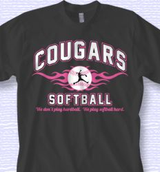 softball shirt designs | Cool Softball Shirt Design - Collegiate ...