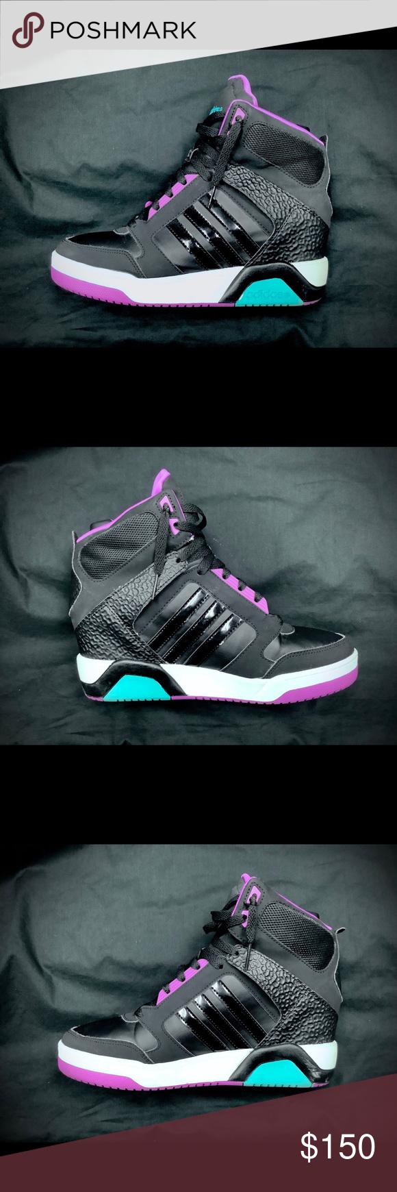 wedge sneakers, Adidas neo, Wedge sneaker