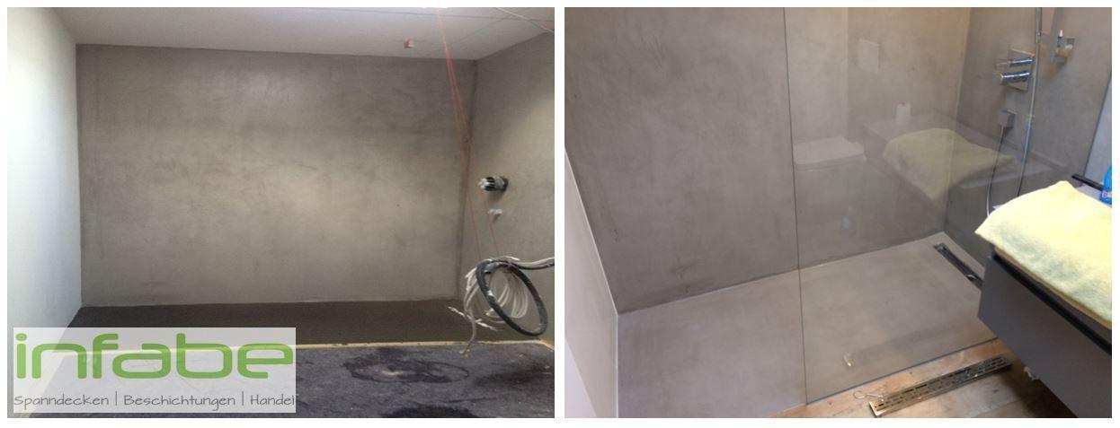 Fugenlose Designer Spachtelmasse Beton Mineral Resinence Mit Bildern Betonoptik Spachtel Fliesenspiegel